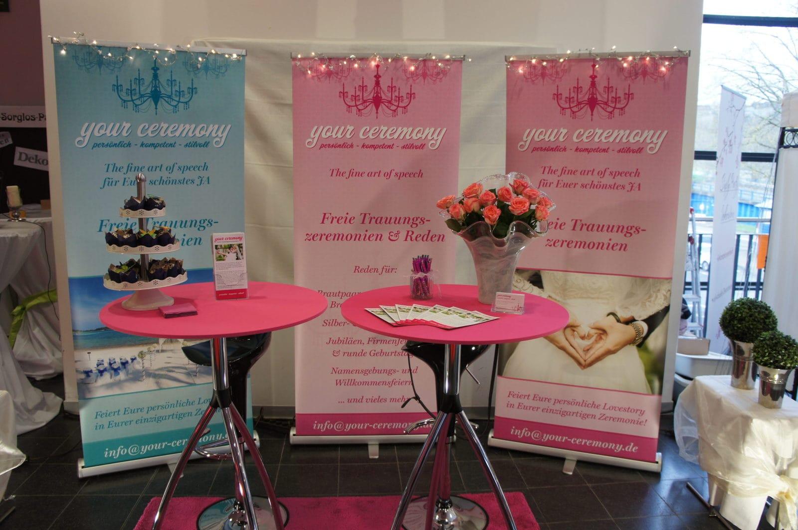 your ceremony Auftritt bei der Hochzeitsmesse Siegen