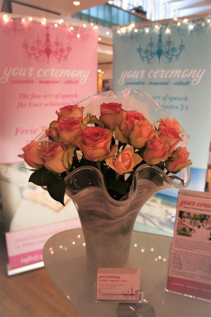 Blumenstrauß Hochzeitsmesse Olpe